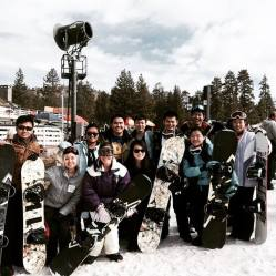 CCDC on a ski/snowboarding trip, shredding up all the slopes at Snow Valley! PC: Alex Wong